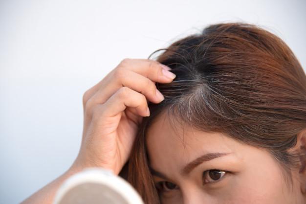 Penyebab Rambut Beruban dan solusinya
